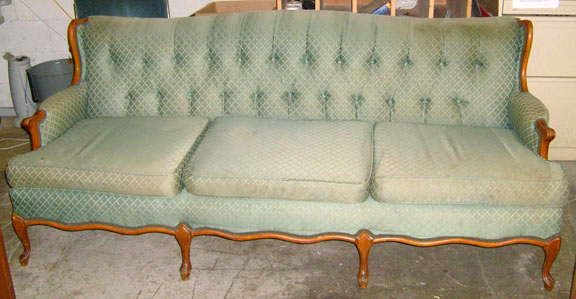 sofa green period furniture to kill a mockingbird